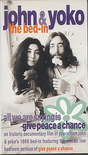 John and Yoko Bed In